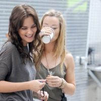 PHOTOS - Gossip Girl : Penn Badgley et Leighton Meester sur le tournage de la saison 5