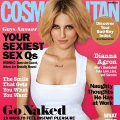 PHOTOS - Dianna Agron voit triple en une de Cosmopolitan