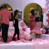 Secret Story 5 : les habitants voient la vie en rose (et blanc)