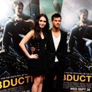 Taylor Lautner en célibataire à Paris aujourd'hui ... hier à Londres avec Lily Collins (PHOTOS)