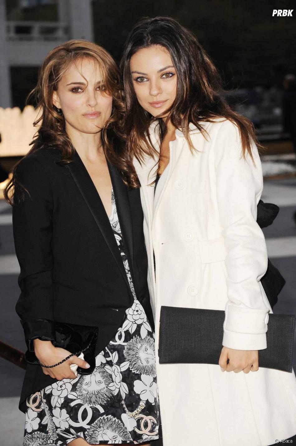 Mila Kunis et Natalie Portman se retrouveront pour les Golden Globes 2012