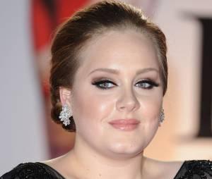 Adele aux Brit Awards 2011 avec Someone Like You