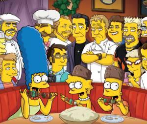 Les Simpson, plus fort que les Golden Globes 2012