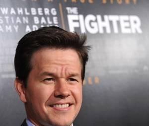 Mark Wahlberg à l'avant-première du film Fighter