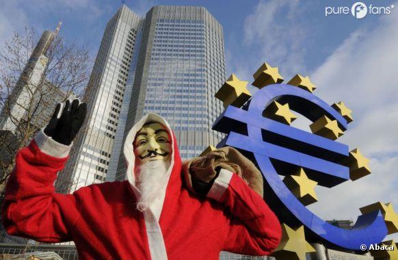 Le célèbre masque des membres d'Anonymous