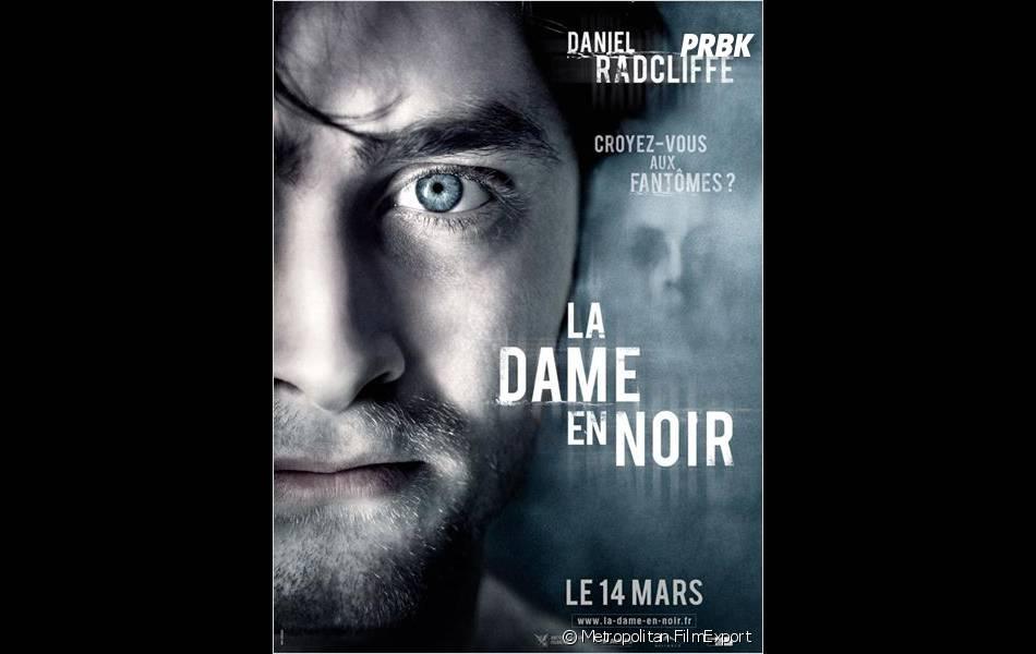 L'affiche du film La Dame en Noir avec Daniel Radcliffe