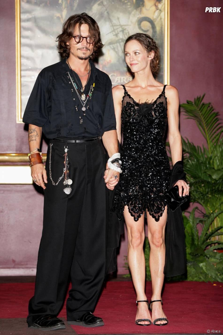 Vanessa Paradis et Johnny Depp en 2006