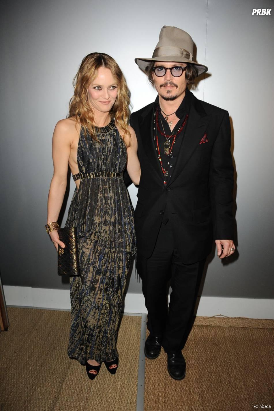 Vanessa Paradis et Johnny Depp, un couple glamour