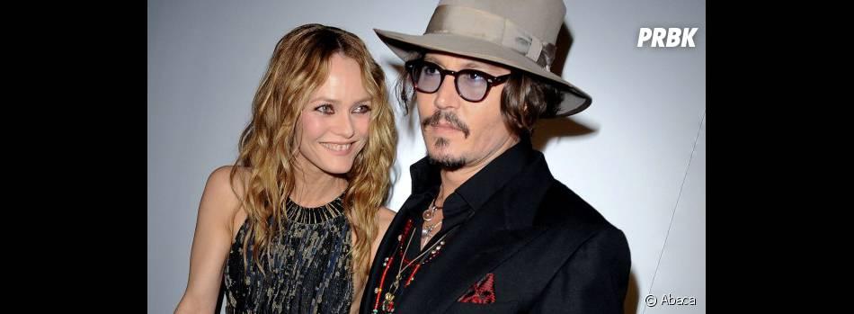Vanessa Paradis et Johnny Depp toujours ensemble