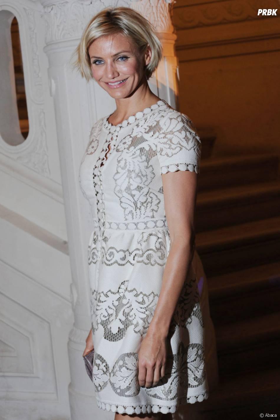 Cameron Diaz à la Fashion Week de Paris