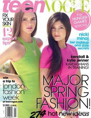 Kylie et Kendall Jenner font la couverture de Teen Vogue