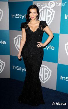 Kim Kardashian, à l'after party des Golden Globes