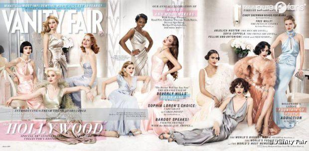 Elizabeth Olsen et Shailene Woodley pour Vanity Fair