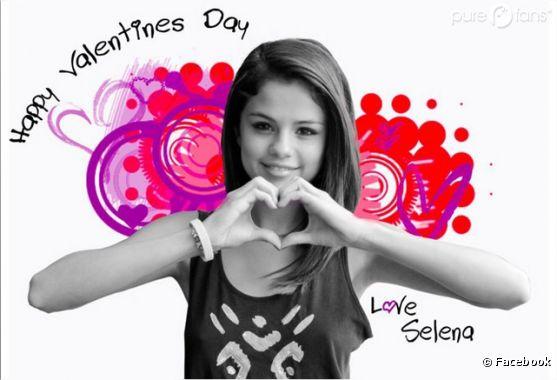 Selena Gomez vous souhaite une joyeuse Saint-Valentin !