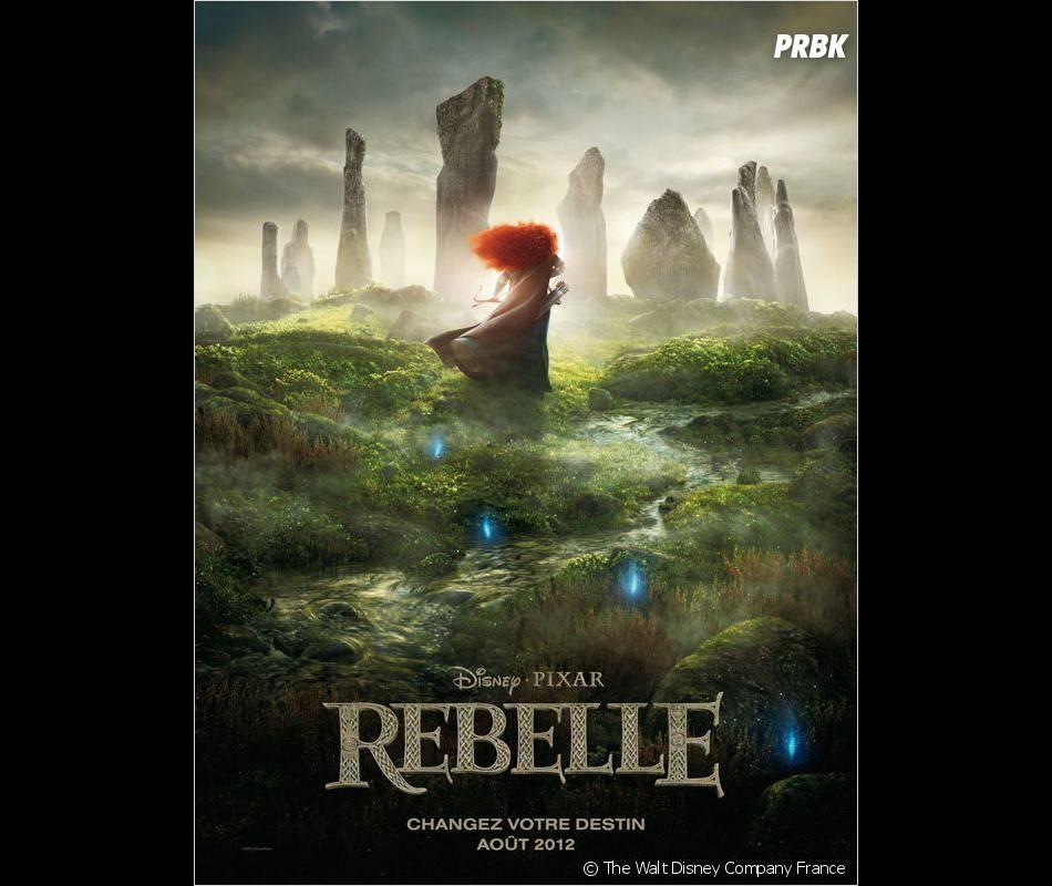 L'affiche française de Rebelle