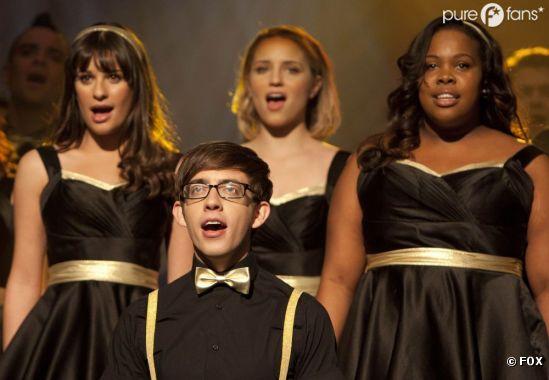Un épisode de Glee sous tension