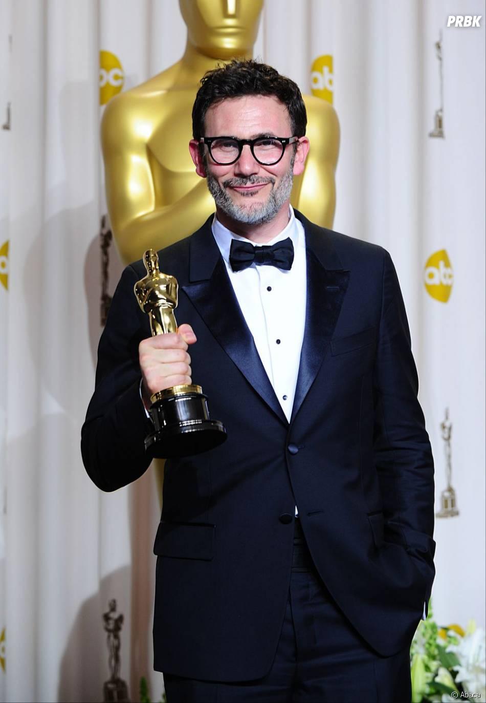 Michel Hazanavicius, réalisateur de The Artist, aux Oscars 2012
