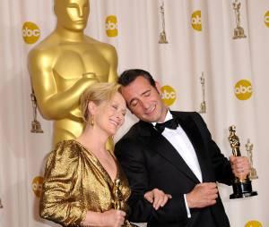 """Oscars 2012, les deux """"meilleurs acteurs"""" ensemble"""