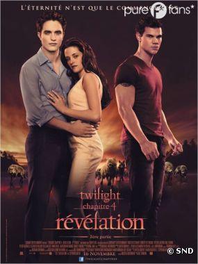 Twilight 4 nommé 8 fois aux Razzie Awards 2012