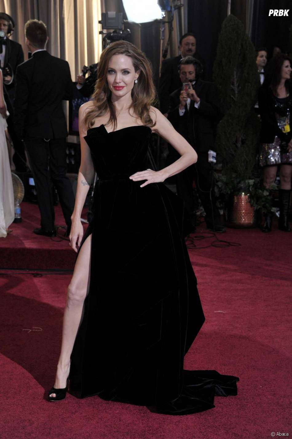 Angelina Jolie, aussi surnommée Angie la classe !