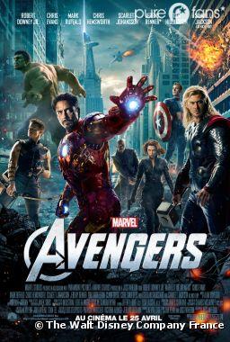 Le nouveau poster d'Avengers