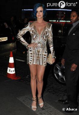 Katy Perry en mode séduction à Paris
