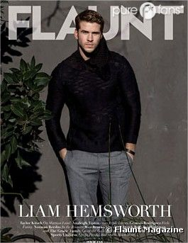 Liam Hemsworth fait la couv' du prochain numéro de Flaunt Magazine