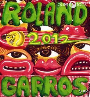 L'affiche 2012 de Roland Garros