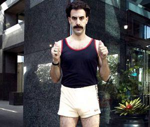 L'hymne de Borat lors d'une compétition sportive au Koweit