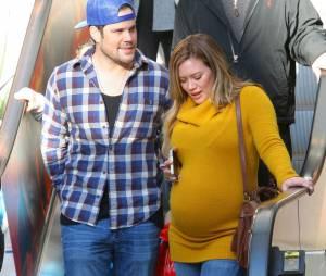 Hilary Duff et son mari Mike Comrie