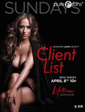 Jennifer Love Hewitt sur l'affiche sexy de The Client List