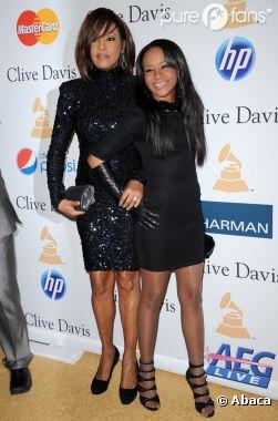 Bobbi Kristina et sa mère Whitney Houston