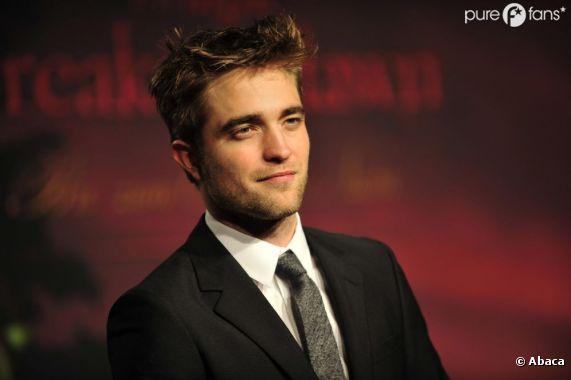 Robert Pattinson le beau gosse par excellence