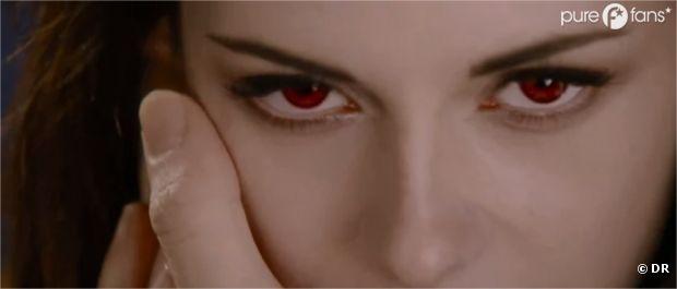 Bella et ses yeux rouges !