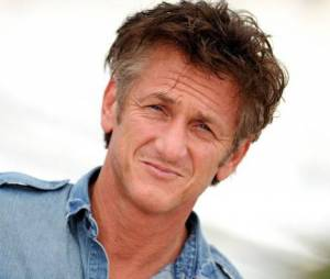 Sean Penn lors de sa venue au festival de Cannes en 2011