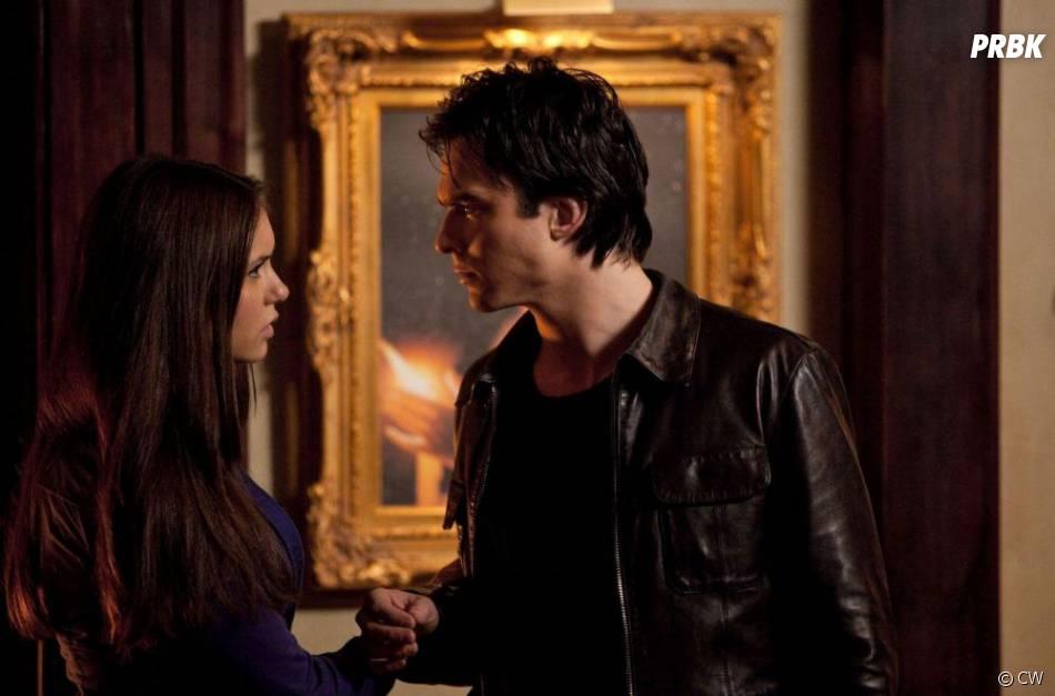 Il y a de la passion entre Elena et Damon