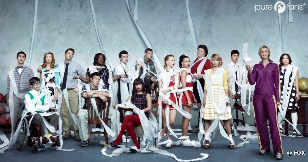 Une rupture et un départ pour Glee !