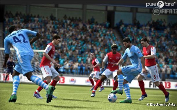 Laissez vous séduire par FIFA 13, plus vrai que nature !