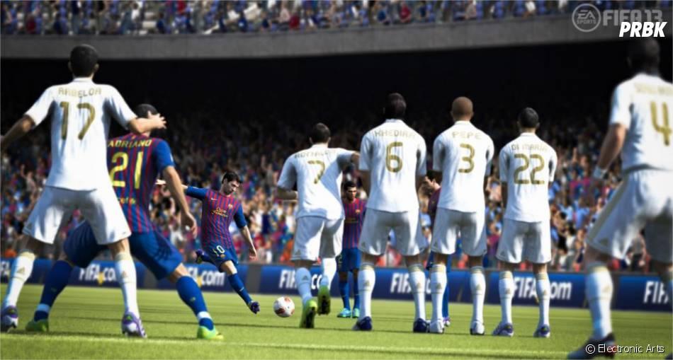 Inscrivez les plus beaux coups-francs sur FIFA 13 grâce aux nouvelles tactiques disponibles