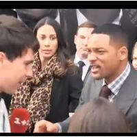 Will Smith perd ses nerfs : une claque à un journaliste (VIDEO)