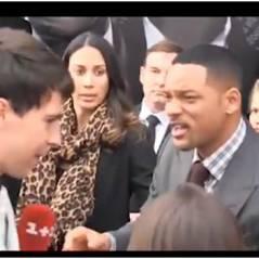 Will Smith perd ses nerfs : une claque à un journaliste (VIDEO)