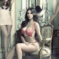 Kim Kardashian et ses soeurs : sexy en lingerie pour la promo de leur show (PHOTO)