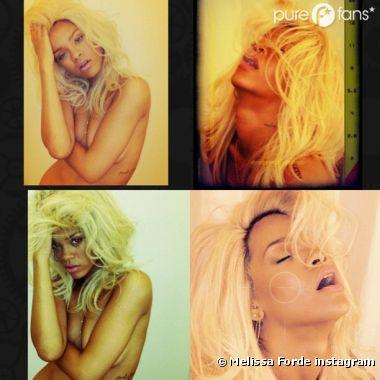 Rihanna sexpose pour son nouveau parfum Nude