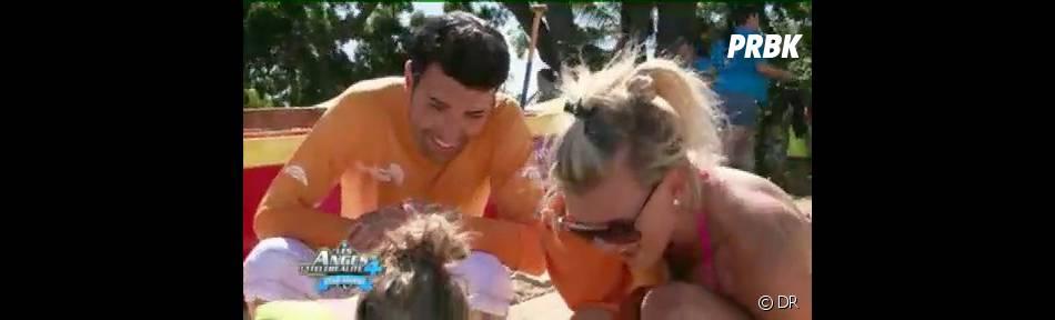 Bruno et Amélie partagent un bon moment avec les enfants