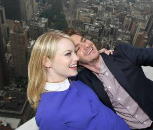 Andrew Garfield et Emma Stone toujours très complices