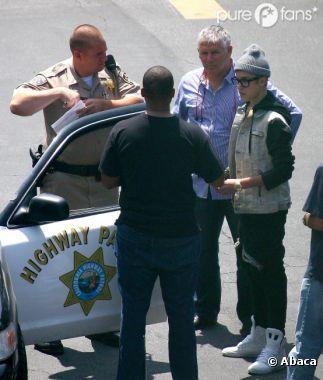 Justin Bieber a des ennuis avec la police !