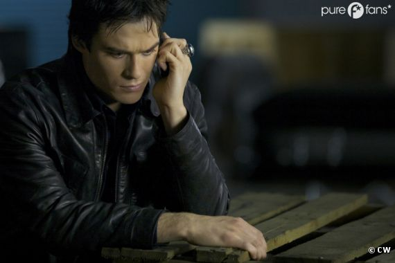 Damon totalement seul dans la saison 4 de Vampire Diaries