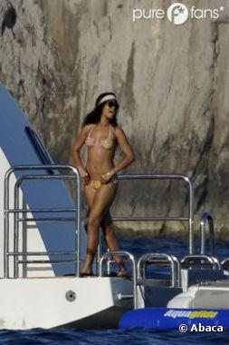 Rihanna toujours aussi canon pendant ses vacances !