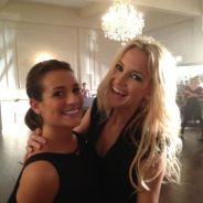 Glee saison 4 : Lea Michele et Kate Hudson, nouvelles best friends sur le tournage ! (PHOTO)