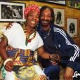 Snoop Dogg Lion en compagnie de la mère de Bob Marley